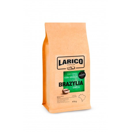 Larico Kawa Ziarnista Brazylia 100% arabica 470g