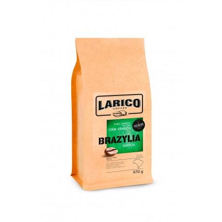 Larico Kawa Ziarnista Brazylia 100% arabica 970g