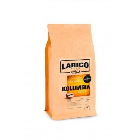 Larico Kawa Ziarnista Kolumbia 100% arabica 970g